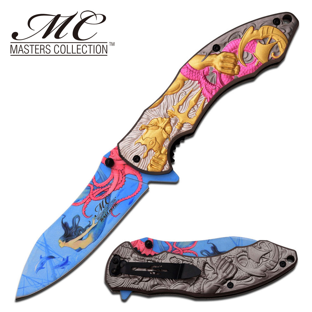 Masters Collection MC-A027PK Spring Assisted Knife