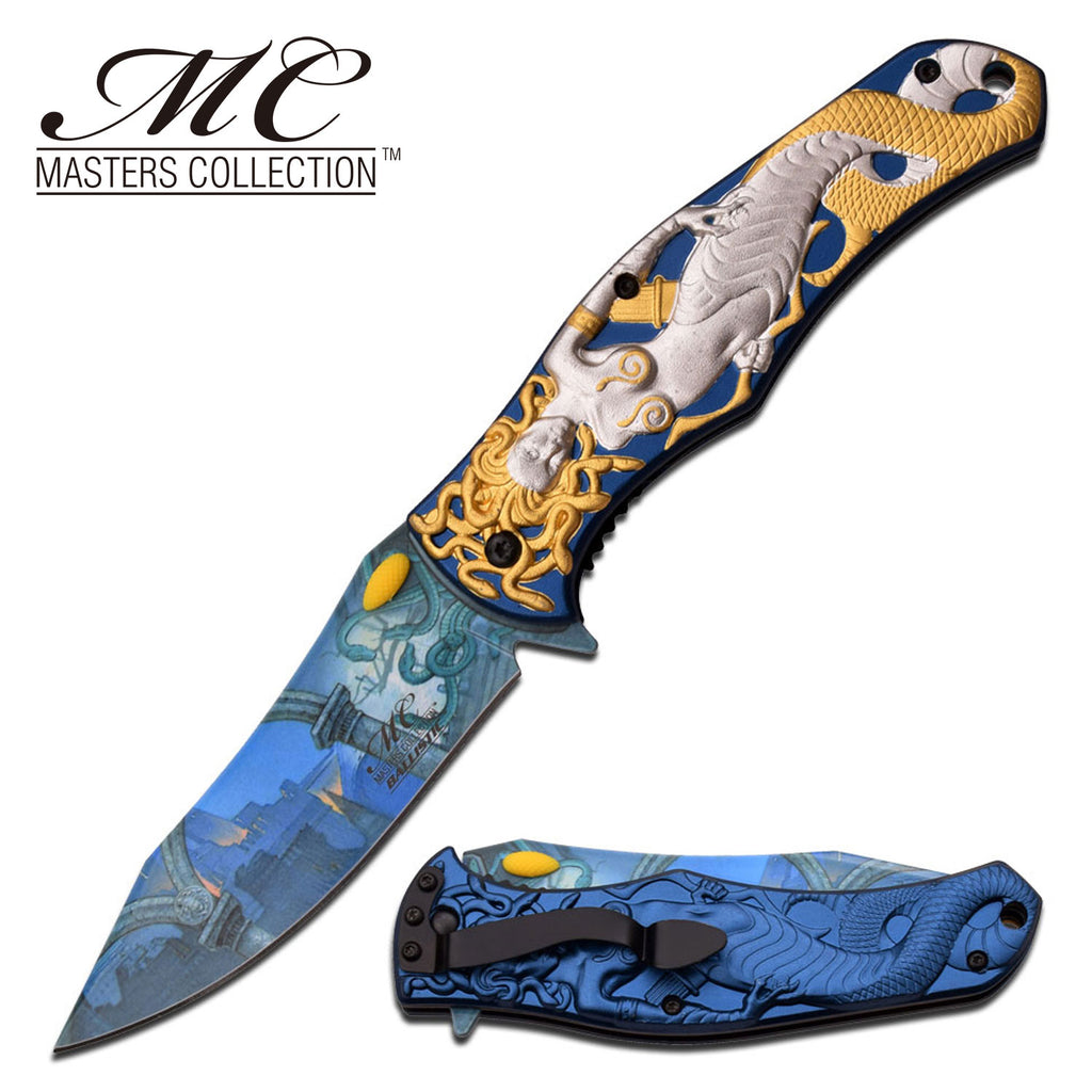 Masters Collection MC-A028SG Spring Assisted Knife