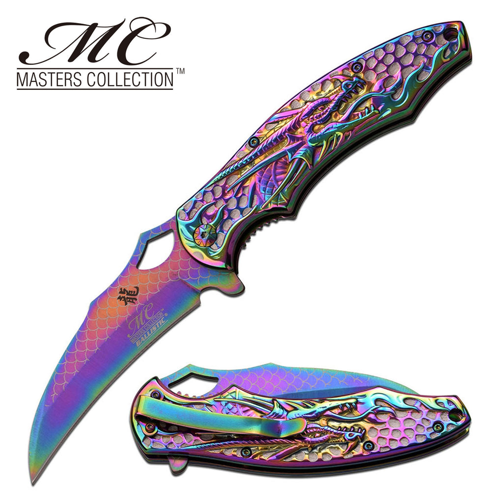 Masters Collection MC-A037RB Spring Assisted Knife