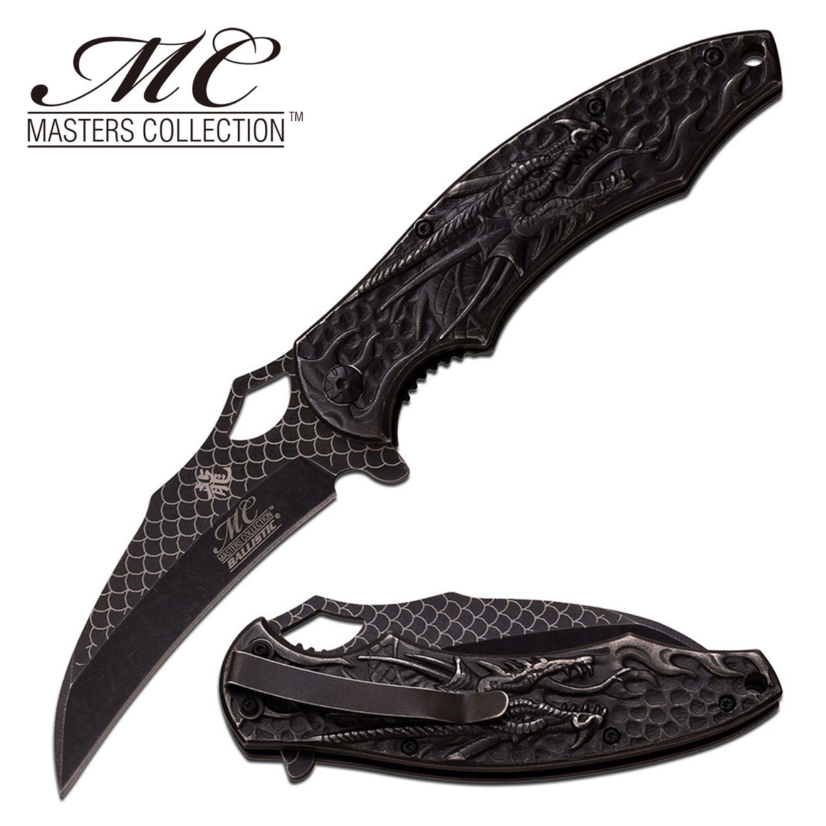 Masters Collection MC-A037SW Spring Assisted Knife