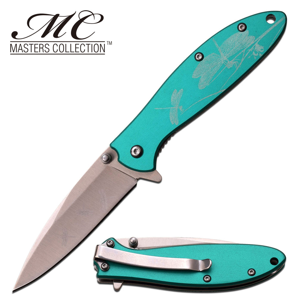 Masters Collection MC-A041GN Spring Assisted Knife
