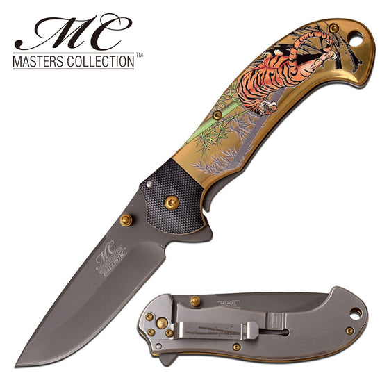 Masters Collection MC-A042BG Spring Assisted Knife