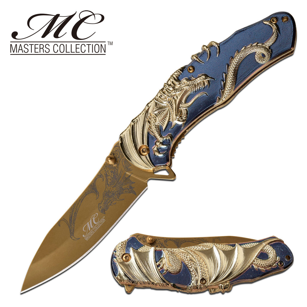 Masters Collection MC-A045BL Spring Assisted Knife