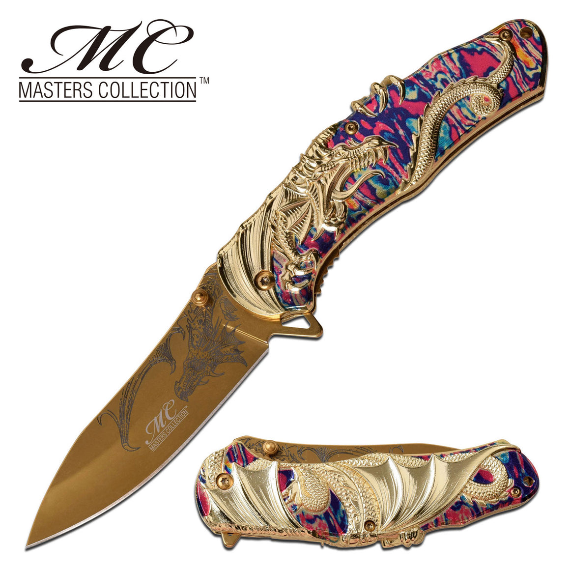 Masters Collection MC-A045TM Spring Assisted Knife