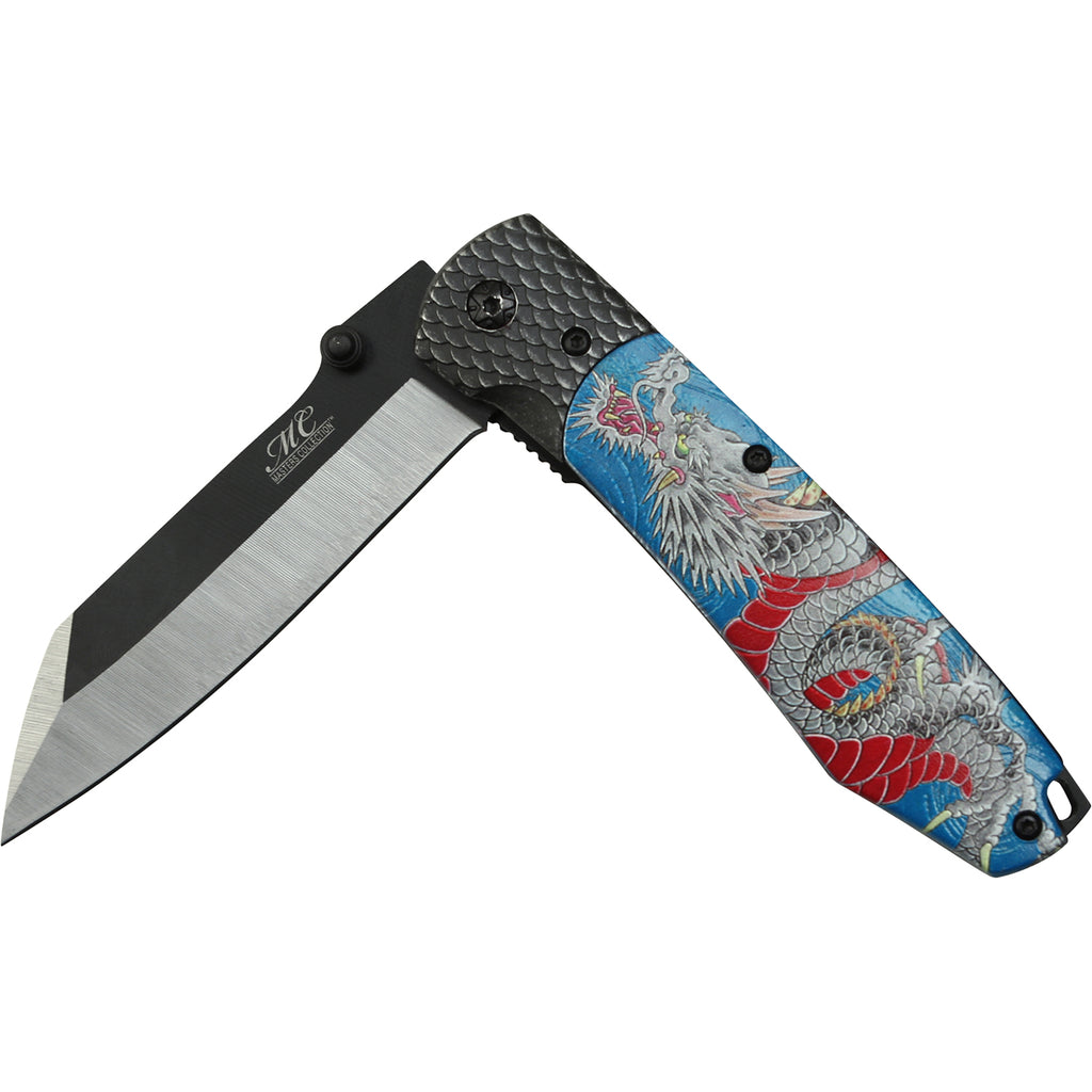 Masters Collection MC-A048BL Spring Assisted Knife