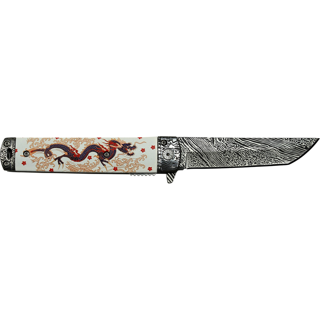 Masters Collection MC-A049WH Spring Assisted Knife