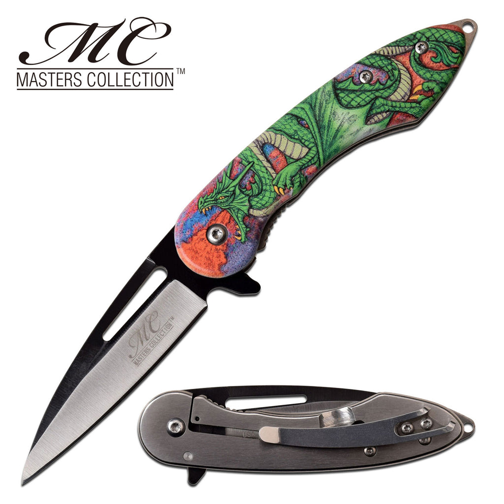 Masters Collection MC-A051GN Spring Assisted Knife