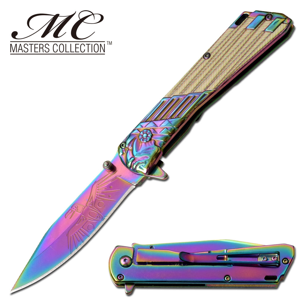 Masters Collection MC-A053RB Spring Assisted Knife