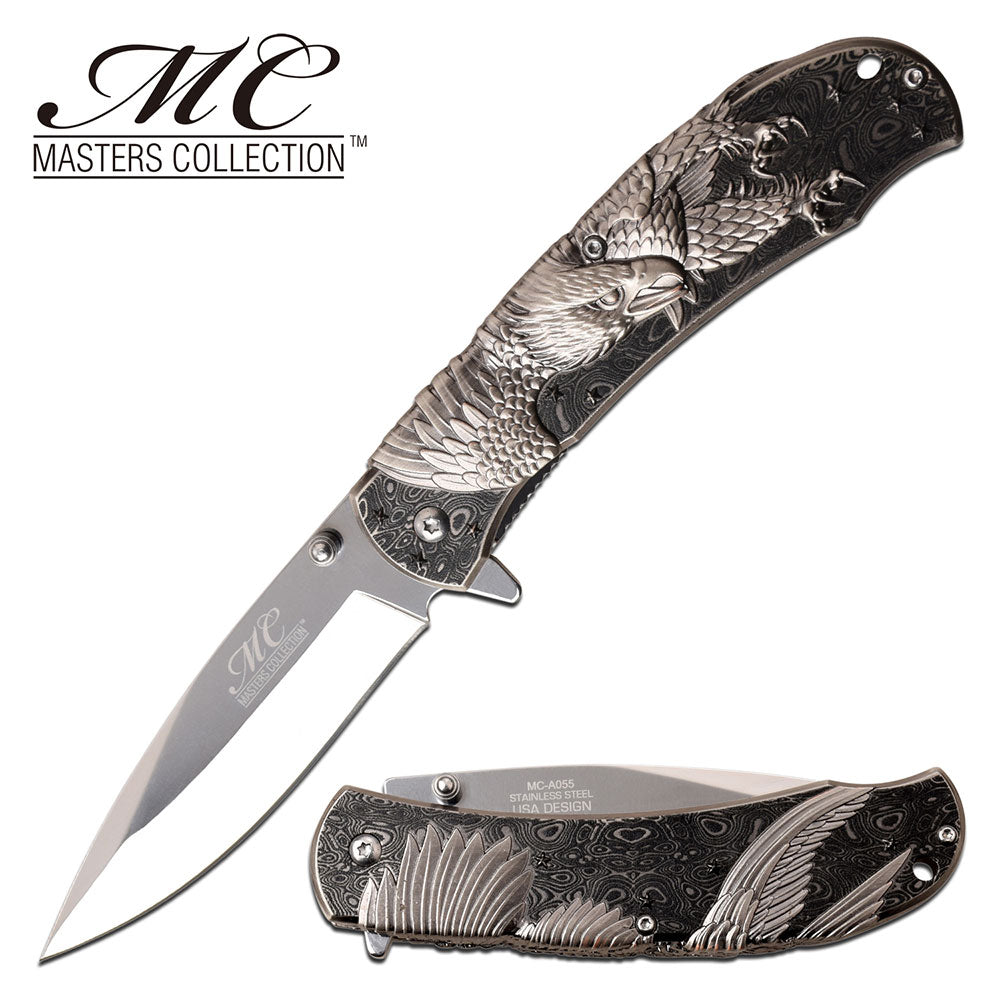 Masters Collection MC-A055BK Spring Assisted Knife