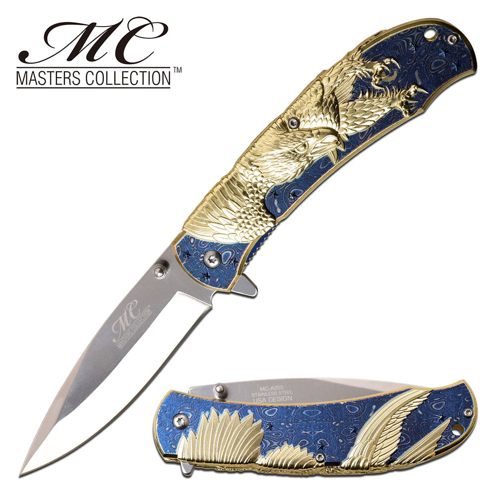 Masters Collection MC-A055BL Spring Assisted Knife