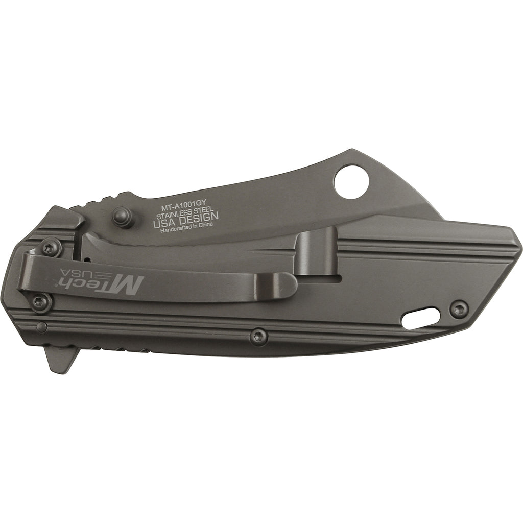 MTech MT-A1001GY Spring Assisted Knife