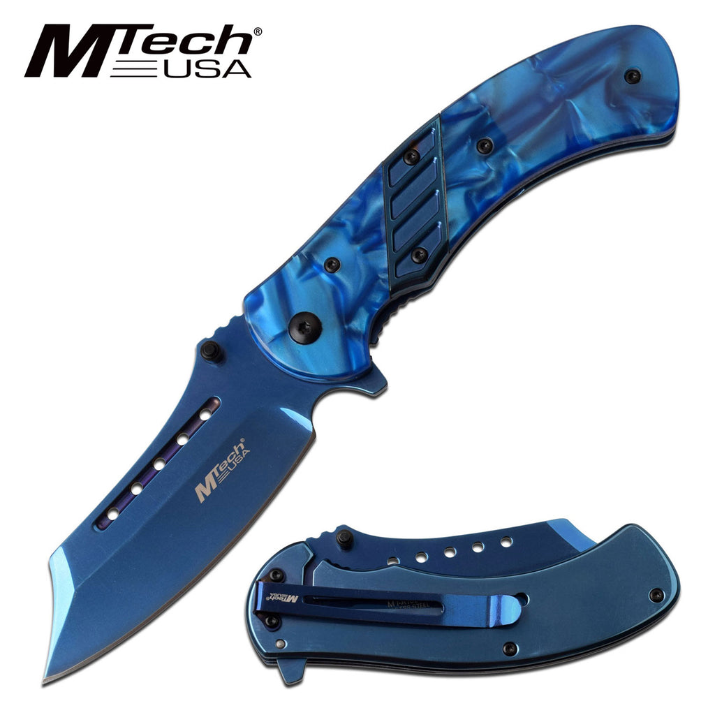 MTech MT-A1021BL Spring Assisted Knife
