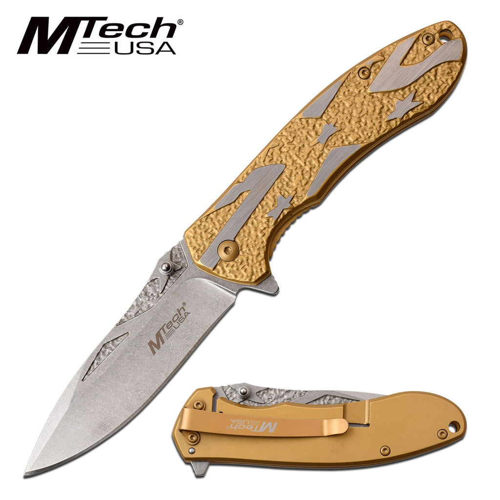MTech MT-A1023CGD Spring Assisted Knife