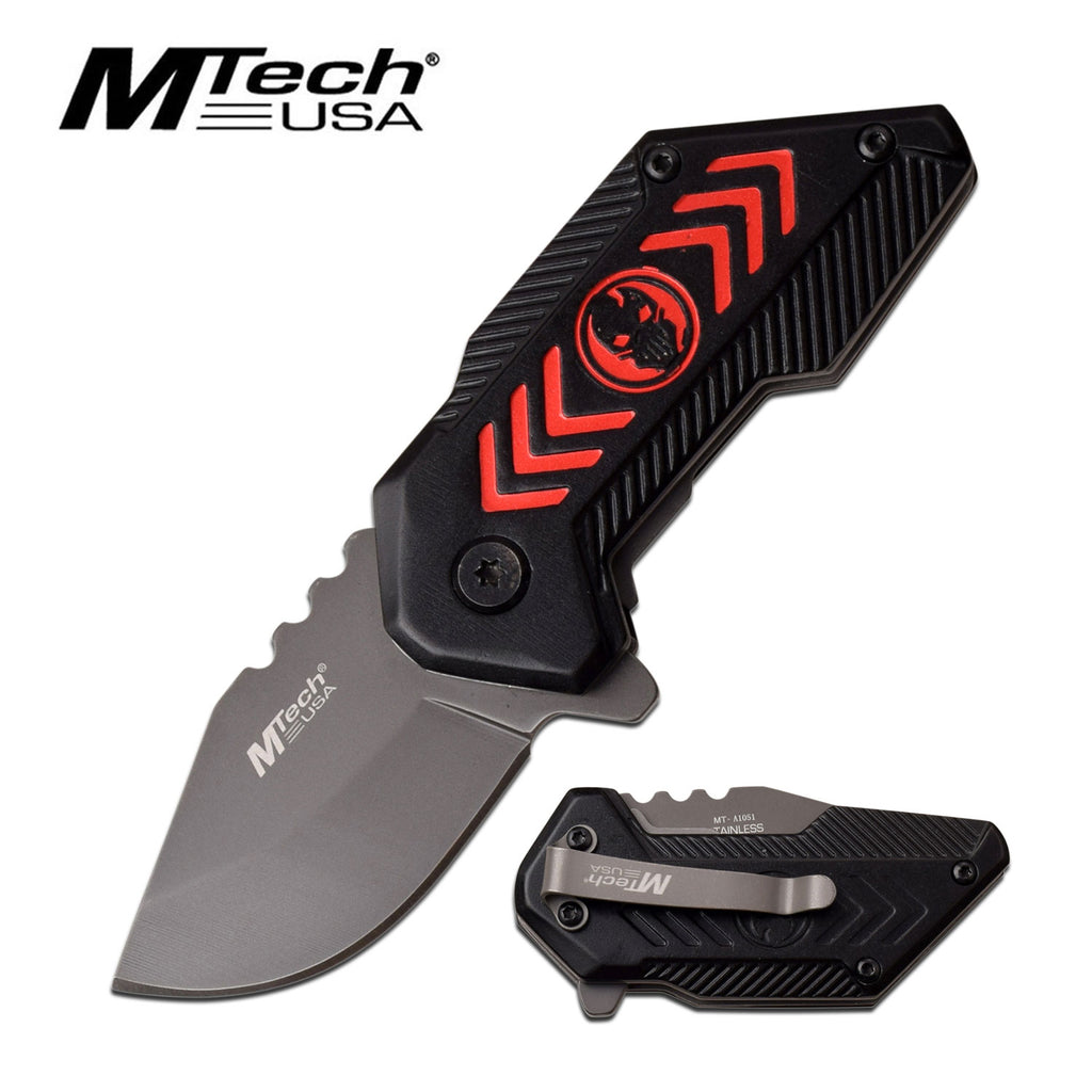 MTech MT-A1051RD Spring Assisted Knife