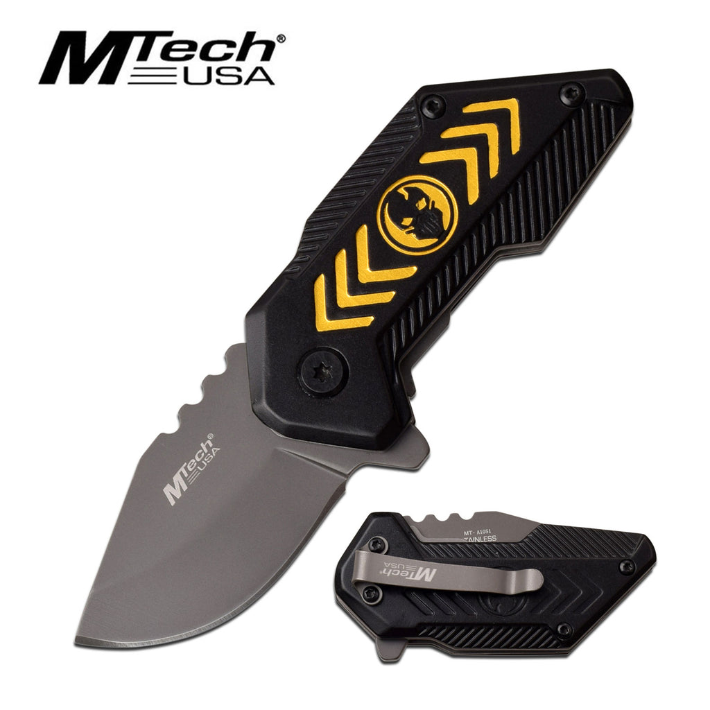 MTech MT-A1051YL Spring Assisted Knife