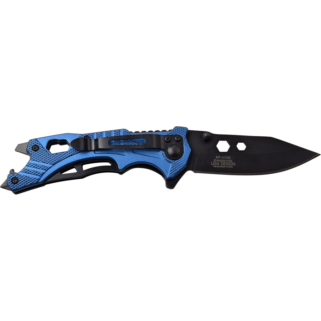 MTech MT-A1058BL Spring Assisted Knife