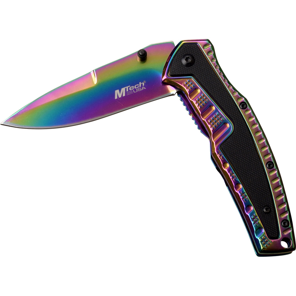 MTech MT-A1070RB Spring Assisted Knife