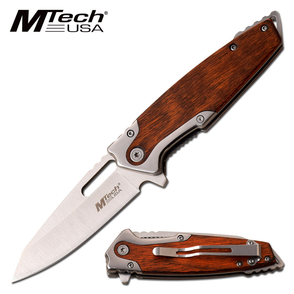 MTech MT-A1071BR Spring Assisted Knife