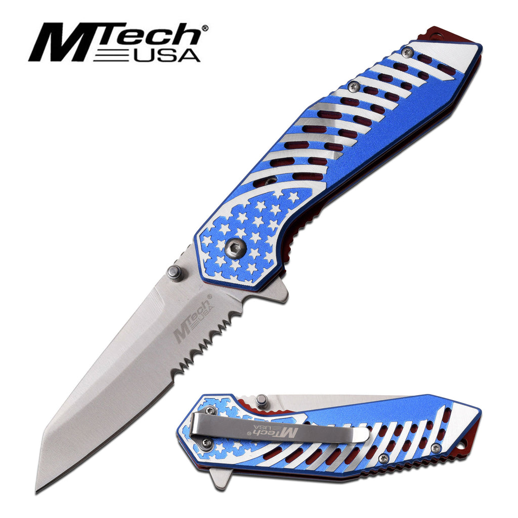 MTech MT-A1080S Spring Assisted Knife