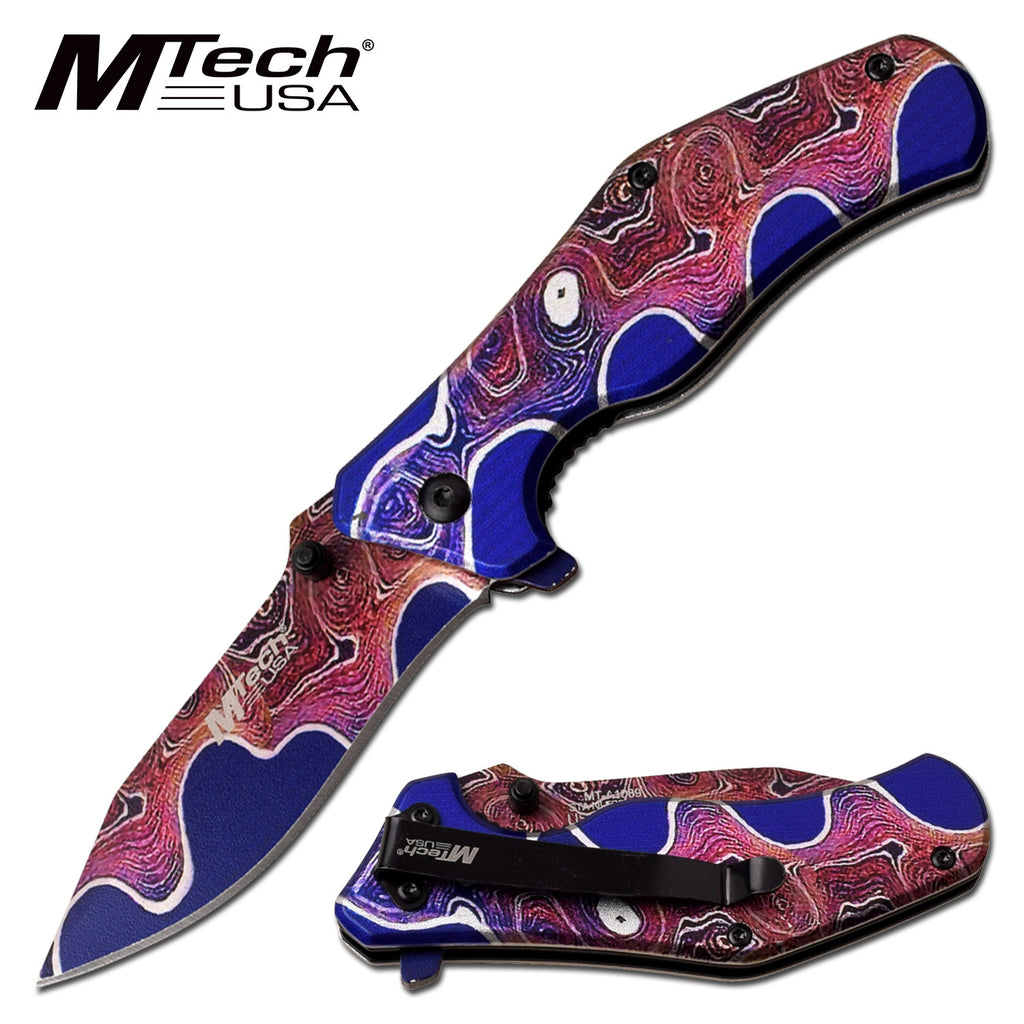 MTech MT-A1089TM1 Spring Assisted Knife