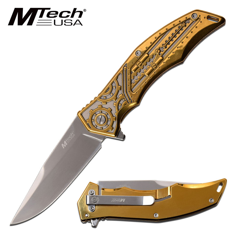 MTech MT-A1095BZ Spring Assisted Knife