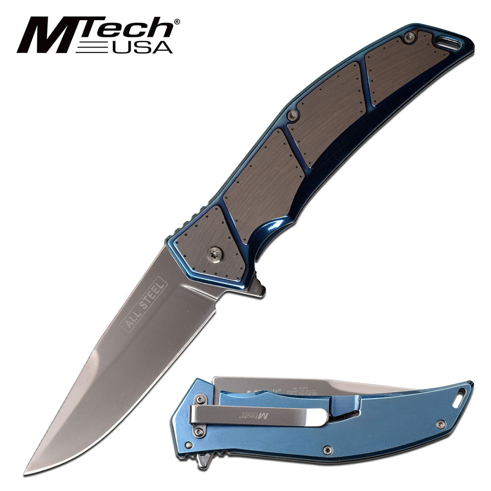 MTech MT-A1097BL Spring Assisted Knife