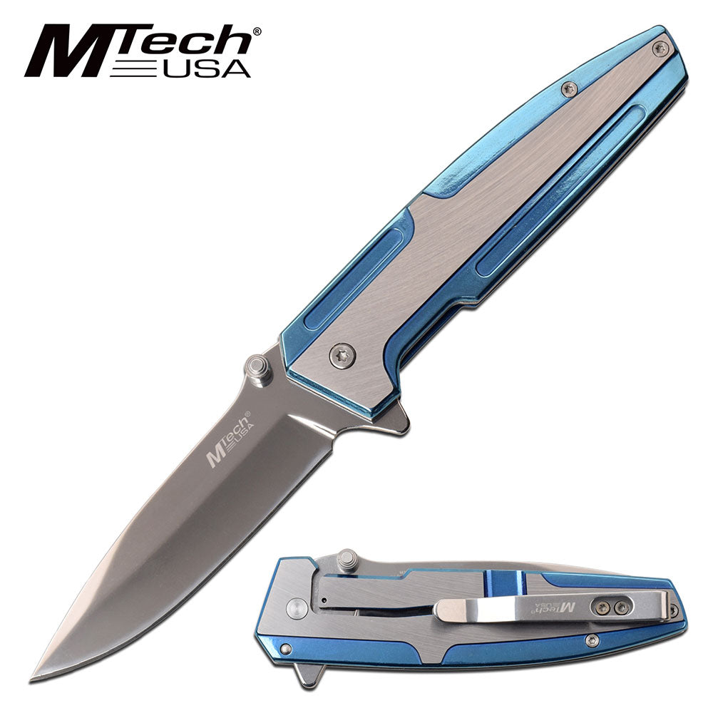 MTech MT-A1098BL Spring Assisted Knife
