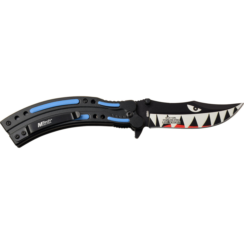 MTech MT-A1122BL Spring Assisted Knife
