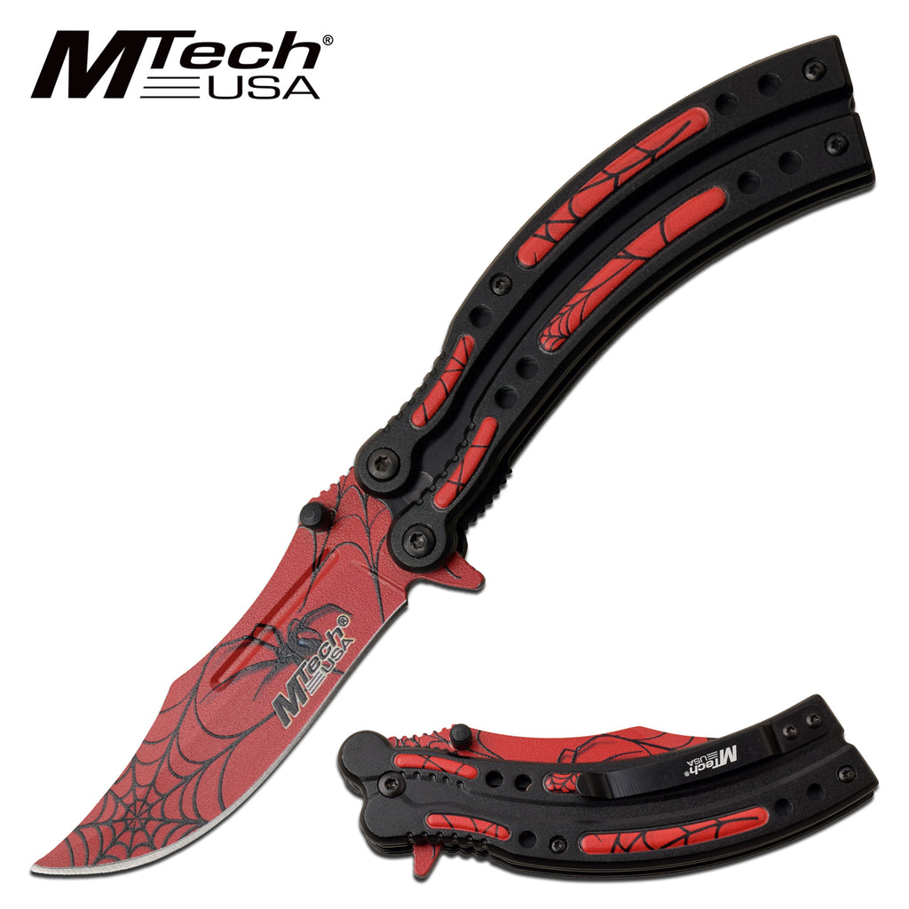 MTech MT-A1122RD Spring Assisted Knife