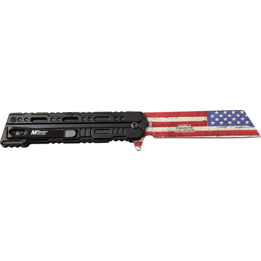 MTech MT-A1123BK Spring Assisted Knife