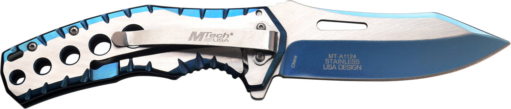 MTech MT-A1124BL Spring Assisted Knife