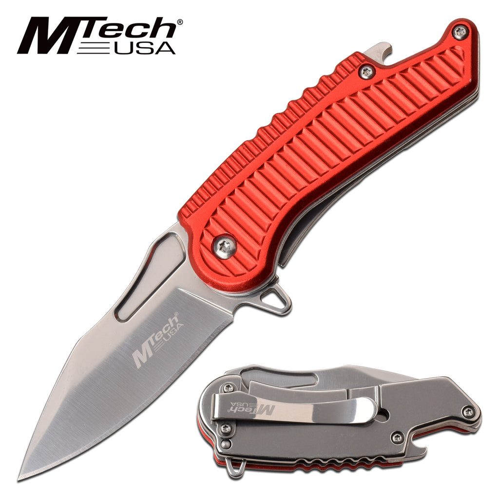 MTech MT-A1125RD Spring Assisted Knife