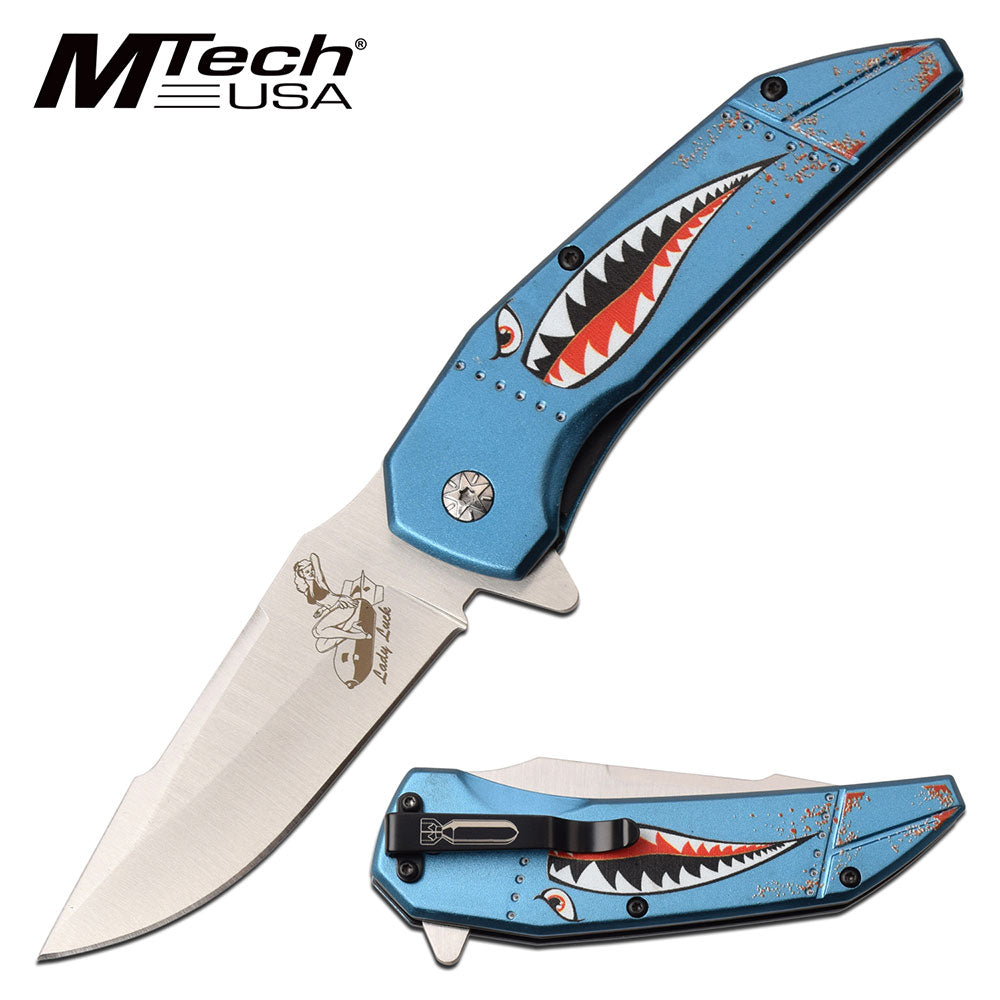 MTech MT-A1129BL Spring Assisted Knife