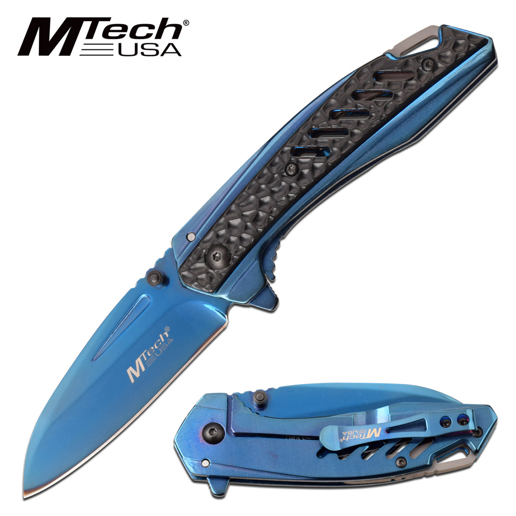 MTech MT-A1133BL Spring Assisted Knife
