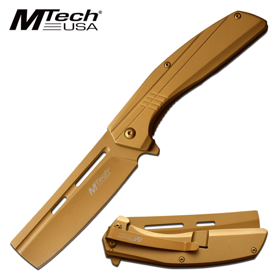 MTech MT-A1139GD Spring Assisted Knife