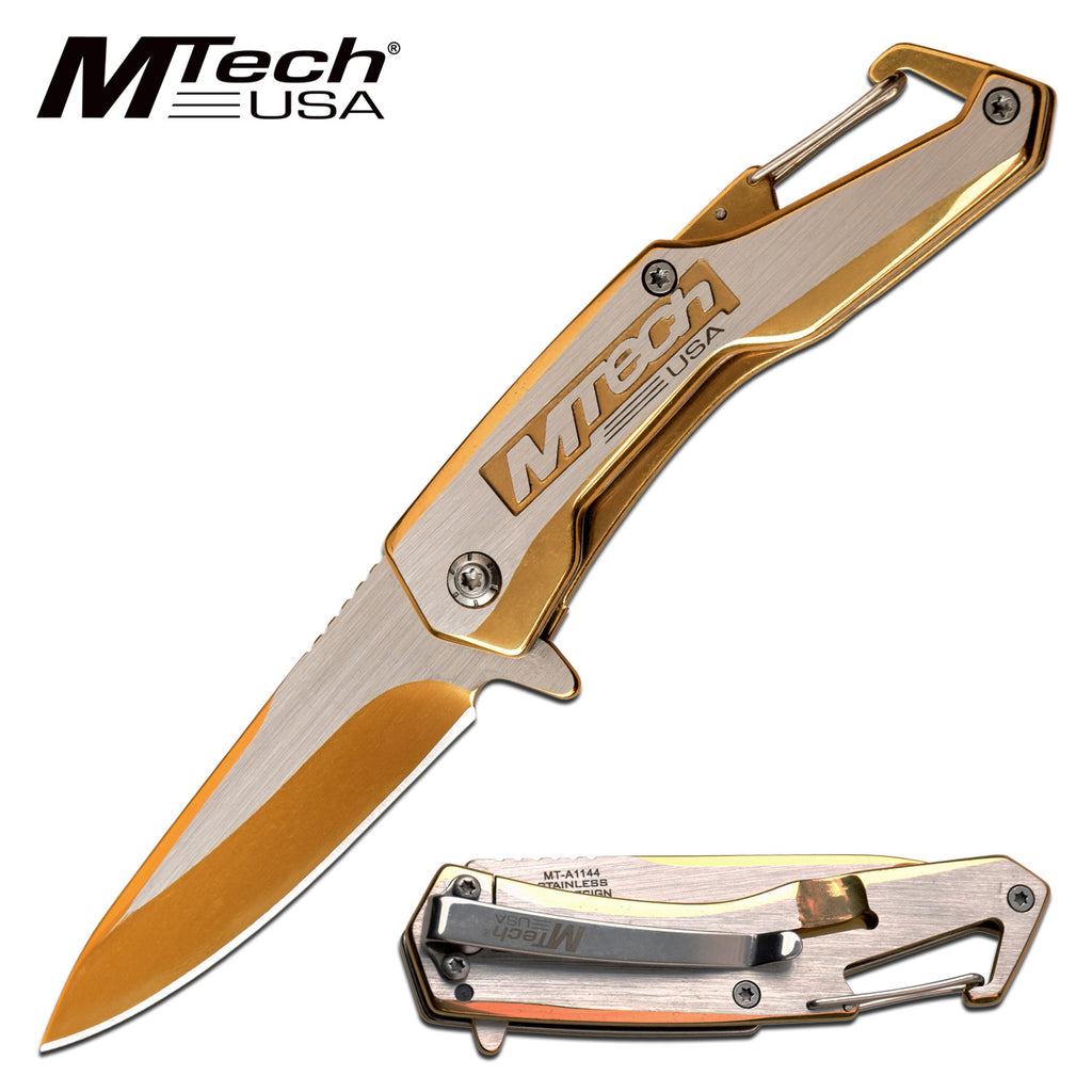 MTech MT-A1144GD Spring Assisted Knife
