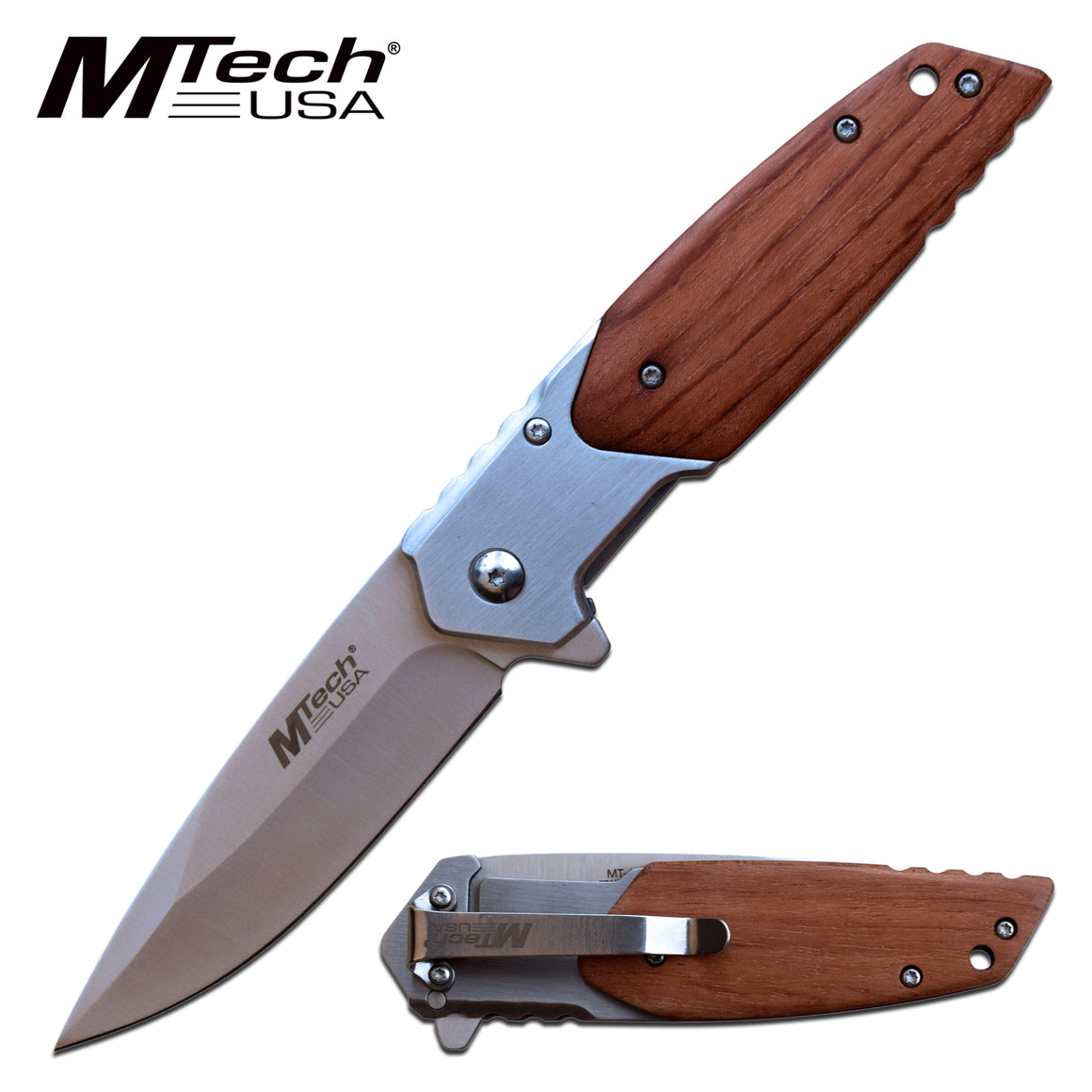 MTech MT-A1154BR Spring Assisted Knife