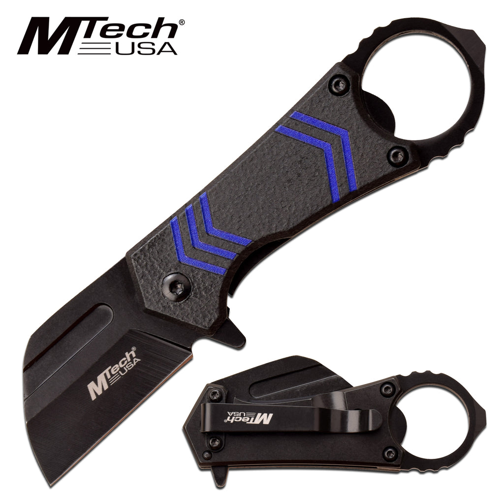 MTech MT-A1188BL Spring Assisted Knife