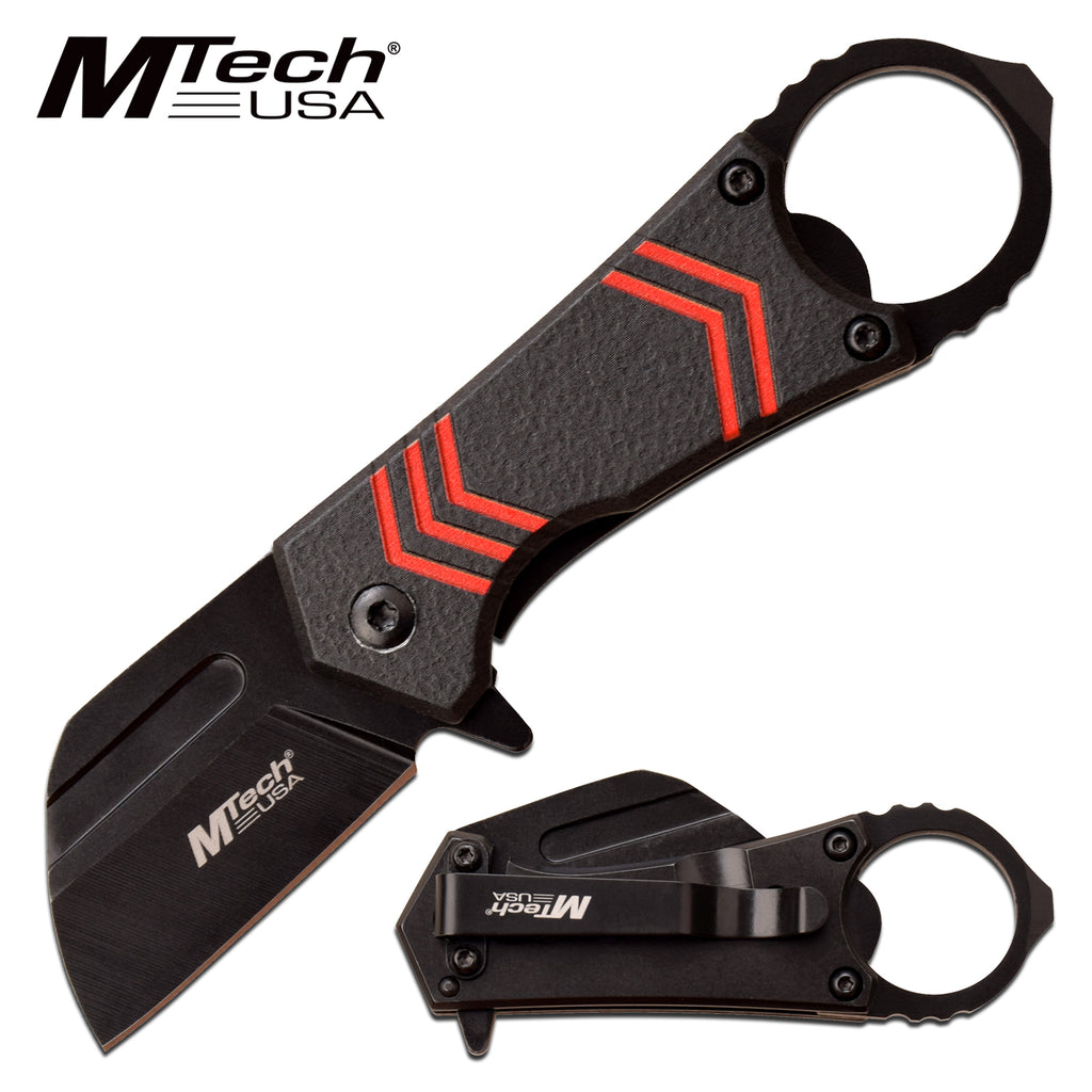 MTech MT-A1188RD Spring Assisted Knife