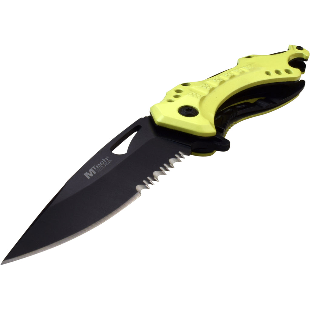 MTech MT-A705NYL Spring Assisted Knife