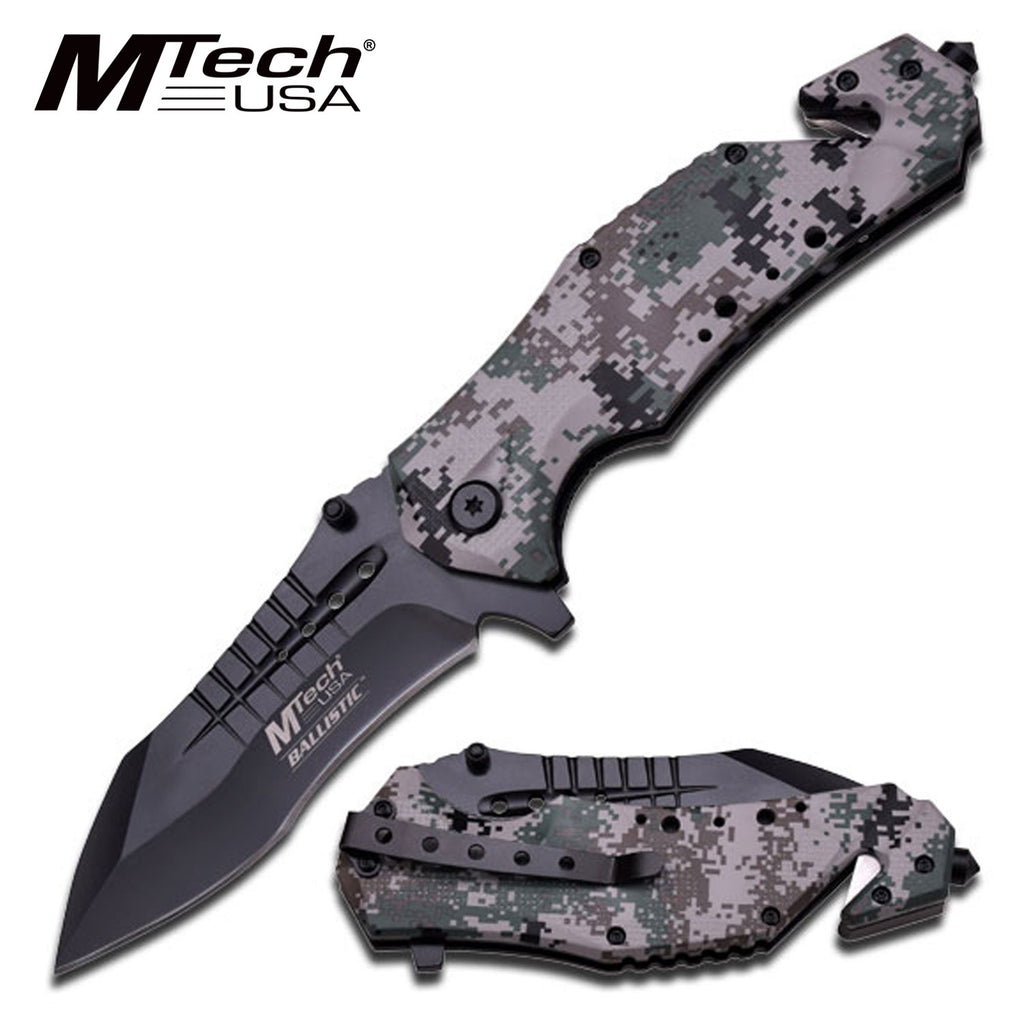 MTech MT-A845DG Spring Assisted Knife