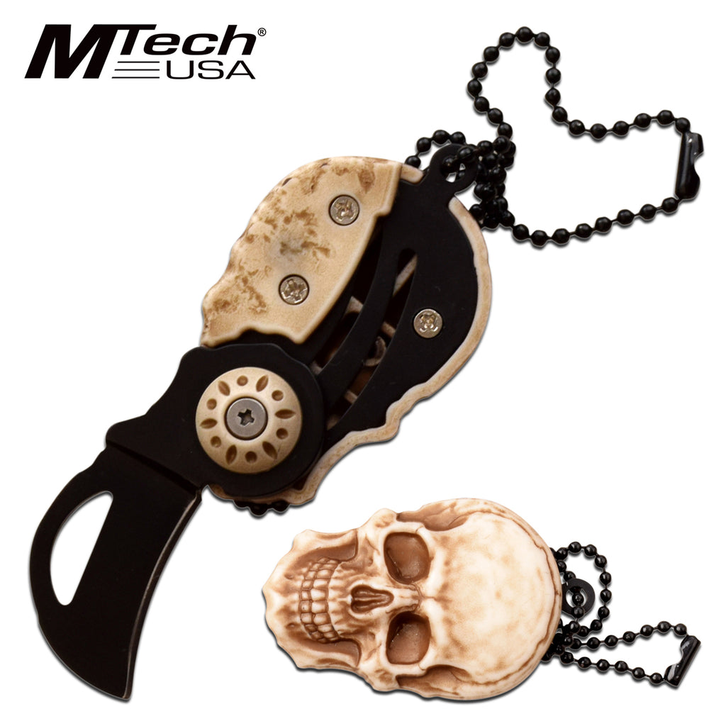 MTech MT-SKULL Folding Knife