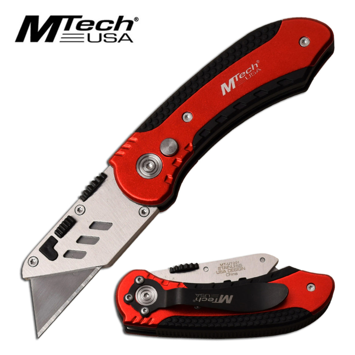 MTech USA MT-UT001RD Manual Folding Knife