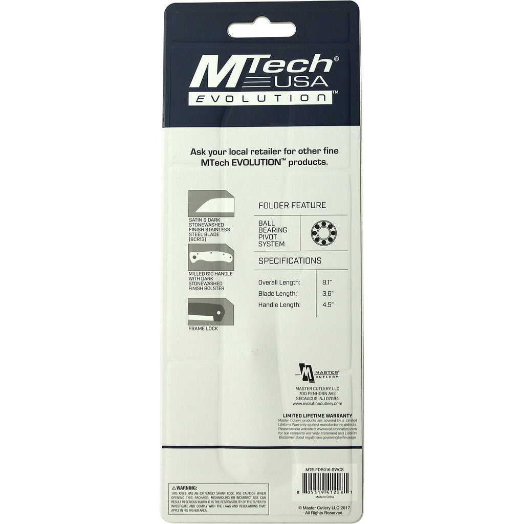 MTech Evolution MTE-FDR016-SW Folding Knife