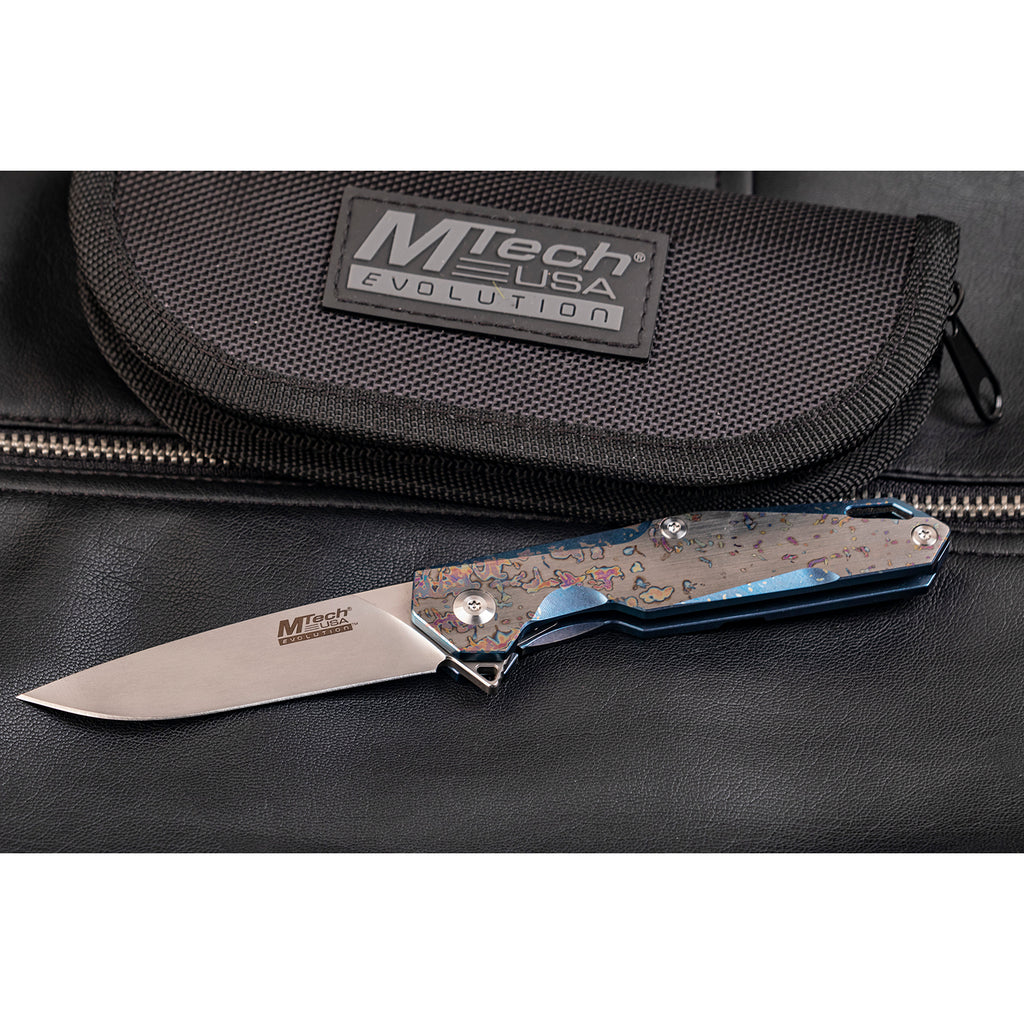 MTech Evolution MTE-FDR020-BL Manual Folding Knife