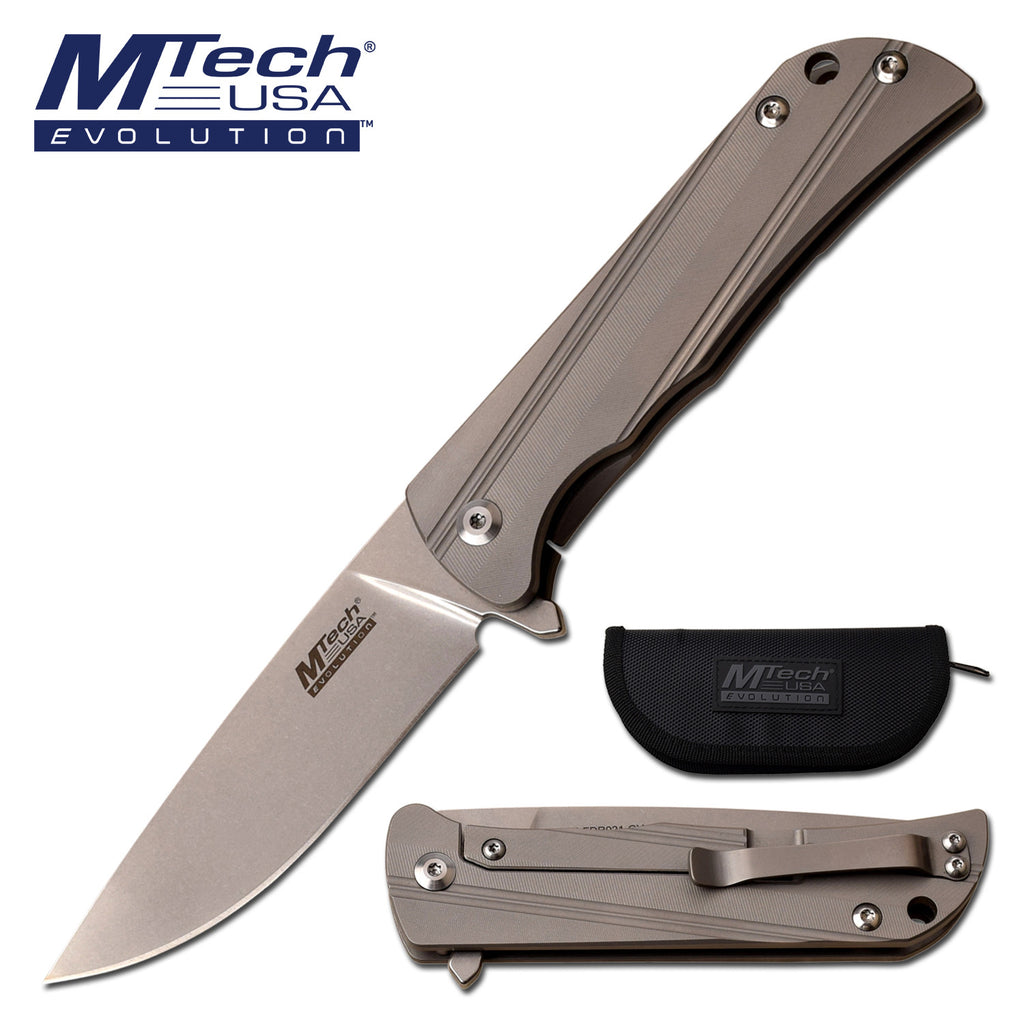MTech Evolution MTE-FDR021-GY Manual Folding Knife