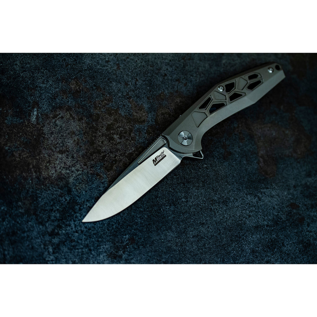 MTech Evolution MTE-FDR027-GY Manual Folding Knife