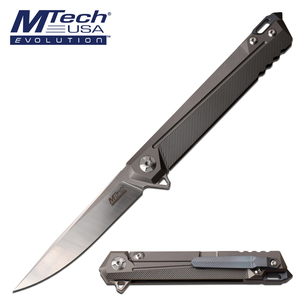 MTech Evolution MTE-FDR028-GY Manual Folding Knife