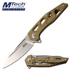 Related product : MTech Evolution MTE-FDR030-GD Manual Folding Knife