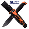 Related product : MTech Evolution MTE-FIX009M-OR Fixed Blade Knife